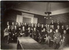 Iškilmingas Aukštojo Lietuvos vyriausybės įgaliotinio A. Smetonos sutikimas