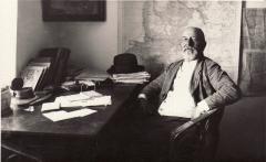 Martynas Jankus savo kabinete