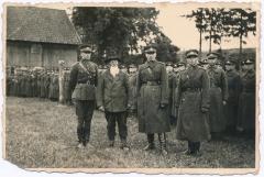 Lietuvos kariūnai patriarcho Martyno Jankaus sodyboje