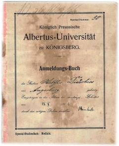 Studento knygelė