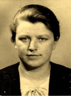 Dr. Valterio Didžio žmona Liudvika Didžienė (Vitkutė)