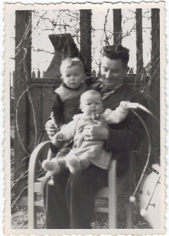 Valteris Didžys su vaikais