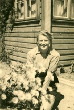 Dr. Valterio Didžio žmona Liudvika Didžienė