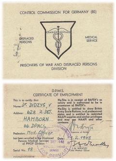 medicinos tarnybos sertifikatas