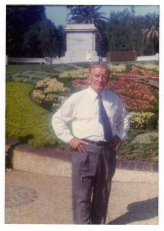 Prie Gėlių laikrodžio Melburne 1973 m.